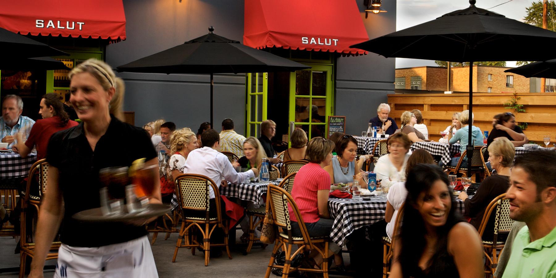 Salut | Bar Americain 50th and France Restaurants